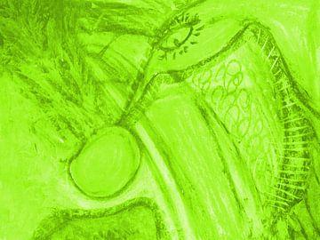 Phantasie - grün von Katrin Behr