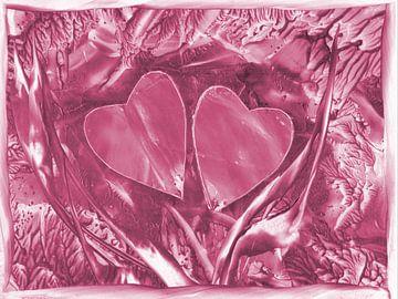 Herzensverbindung - lila van Katrin Behr
