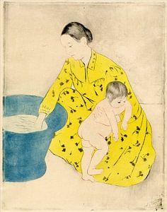 Het Bad, Mary Cassatt