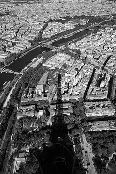 Eiffelturm & Seine Paris von Merel Taalman