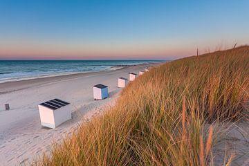 Strandhuisjes van Gijs Koole