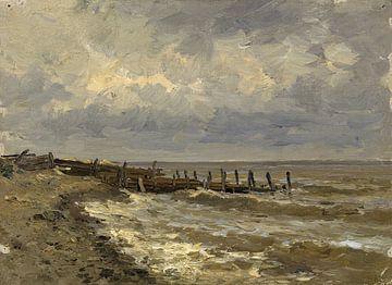 Carlos de Haes-Pier Landschaft, Antike Landschaft