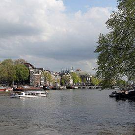 Panorama van de Amstel van Sander de Jong