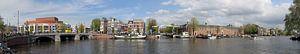 Panorama de l'Amstel sur Sander de Jong