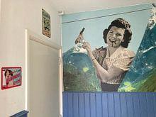 Klantfoto: Houd het schoon! van toon joosen, als behang