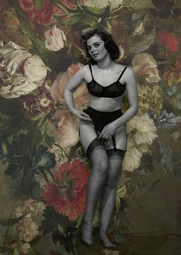 Blooming Muse III Harmanus Uppink von Marit Kout