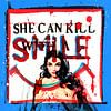 She Can Kill With A Smile van Feike Kloostra thumbnail