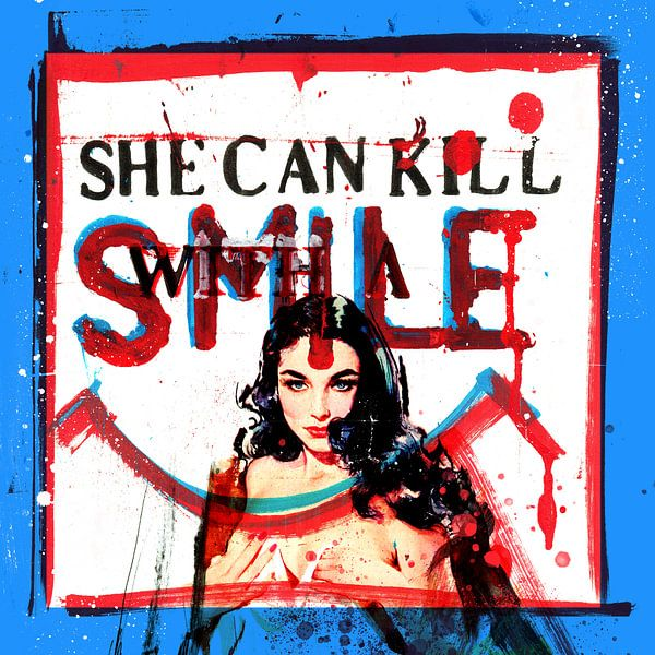 She Can Kill With A Smile van Feike Kloostra