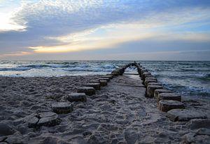 Abendlicht am Meer von zwergl 0611