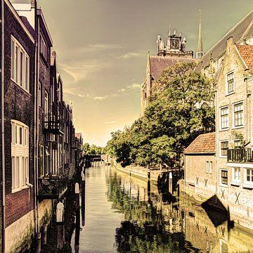Innenstadt von Dordrecht Niederlande von Hendrik-Jan Kornelis
