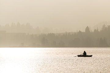 Nebel am Hopfensee von Denis Feiner