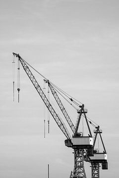 Hafenkran Hamburg von Der HanseArt