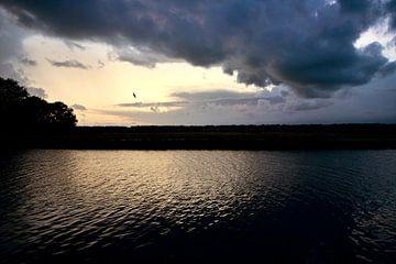 Dreigend landschap von Fokje Otter