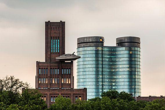 De Inktpot & het Rabobank hoofdkantoor in Utrecht van De Utrechtse Internet Courant (DUIC)