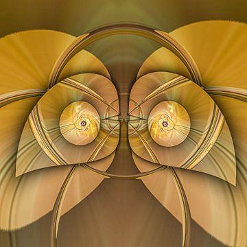 Phantasievolle abstrakte Twirl-Illustration 106/52 von PICTURES MAKE MOMENTS
