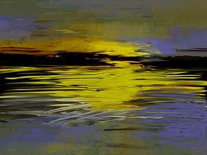 Kust de Zon de Zee. van SydWyn Art