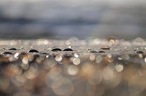 Waterig strandzand
