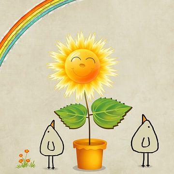 Une fleur du dimanche sur Marion Tenbergen