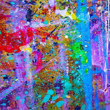 Refurbished paint square van Freddy Hoevers