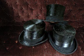 Oude hoeden in rijtuig von Wybrich Warns