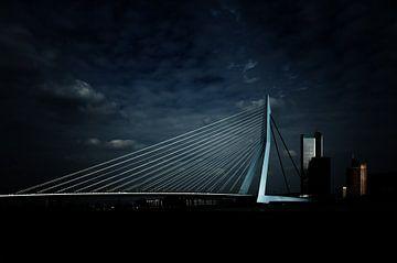 Erasmusbrug, Rotterdam von Bart van Dam