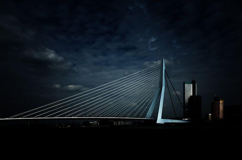 Erasmusbrug, Rotterdam van Bart van Dam