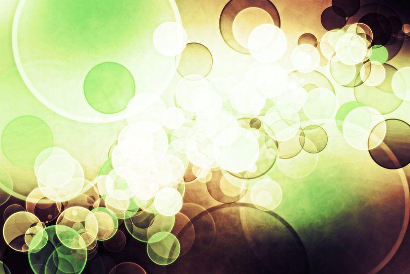 bokeh cofee green von Patricia Verbruggen