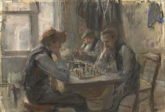 De schaakspelers, Isaac Israels van Meesterlijcke Meesters