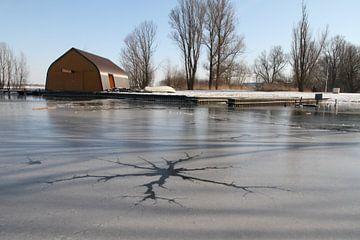 winter in Zoetermeer von Elieke van Til