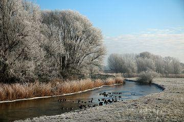 Winterlandschap van Cora Unk