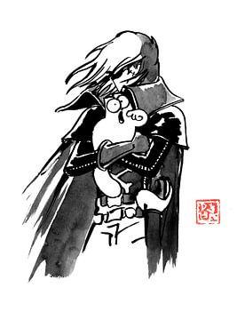 albator et simon's cat sur philippe imbert