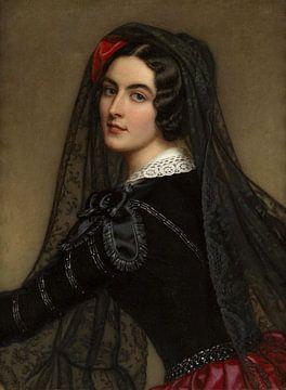 Lola Montez, Joseph Karl Stieler.