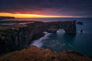 Dyrholaey sunrise