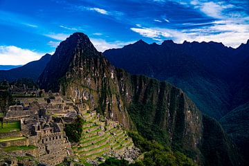 Panorama der Berge bei Machu Picchu von John Ozguc