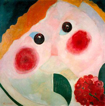 Mädchen mit Ranunkulus, Theo van Doesburg