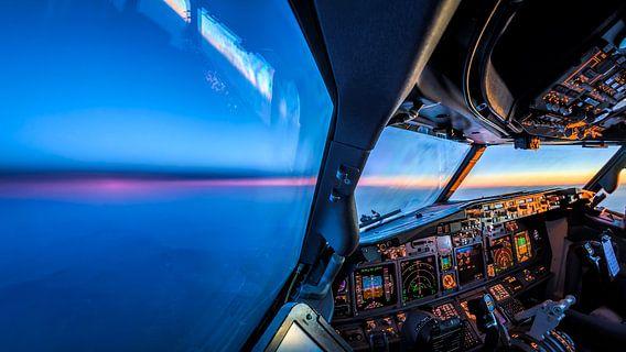 Sunset from the cockpit von Martijn Kort