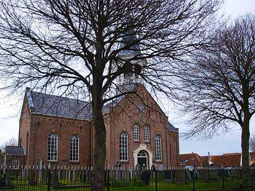 Kerk, Midsland, Terschelling  van Rinke Velds