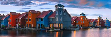 Reitdiephaven, Groningen, Niederlande von Henk Meijer Photography
