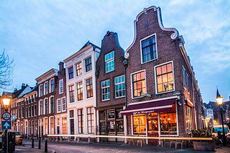 Prachtig avondlicht aan de Oudegracht in Utrecht von De Utrechtse Internet Courant (DUIC)