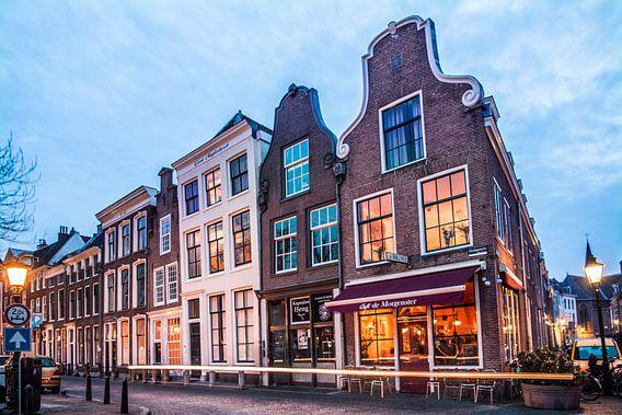 Prachtig avondlicht aan de Oudegracht in Utrecht van De Utrechtse Internet Courant (DUIC)