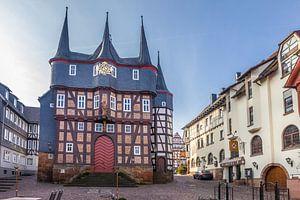 Historisch stadhuis in Frankenberg van Christian Müringer