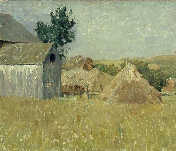William L. Lathrop (1859 - 1938) (Amerikaner)-Graue Scheune