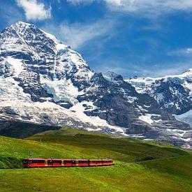 Jungfraubahn, Grindelwald, Schweiz von Adelheid Smitt