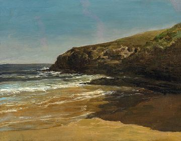 Carlos de Haes-Wasser-Riff-Landschaft, Antike Landschaft