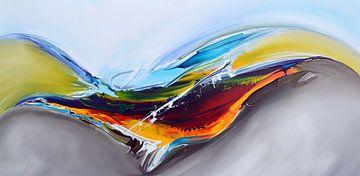 Modern art van Gena Theheartofart