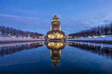 Monument van de Slag der Naties van Sergej Nickel