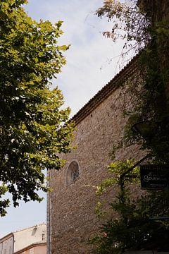 Restaurant in Vallon pont d'arc in de Franse Ardèche in Zuid Frankrijk. van Fotograaf Elise