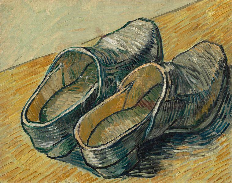 Vincent van Gogh, Een paar leren klompen van 1000 Schilderijen