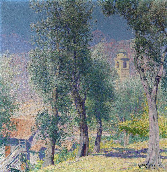 Torbole, Charles Johann Palmie, 1910 sur Atelier Liesjes