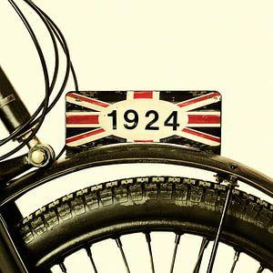 Das 1924 britische Motorrad von Martin Bergsma